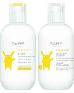 Babe Pediatric Promo Oil Soap Αφρόλουτρο Για Ατοπικό Δέρμα 200ml & Δώρο Cradle Cap Shampoo Σαμπουάν Για Νίνιδα 200ml