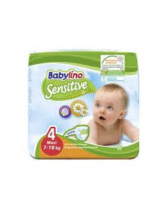 Babylino Sensitive Maxi  No4 (7-18Kg) 20 Βρεφικές Πάνες