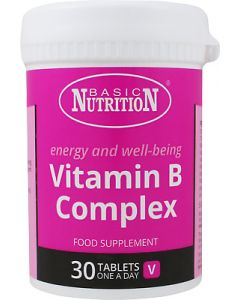 Basic Nutrition Vitamin B Complex Συμπλήρωμα Διατροφής 30tabs