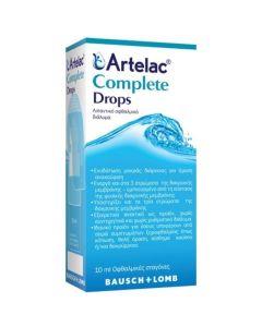 Bausch & Lomb Artelac Complete Λιπαντικό Οφθαλμικό Διάλυμα Σε Σταγόνες 10 ml | Dpharmacy.gr