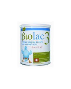 Biolac 3 Βιολογικό Γάλα Για Νήπια Μετά Το 1ο Έτος 400gr