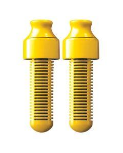 Bobble Ανταλλακτικά Φίλτρα Νερού Για Μπουκάλι Κίτρινο 2τμχ