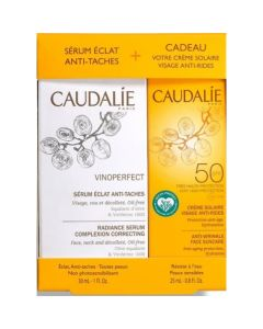 Caudalie Promo Σετ Vinoperfect Serum 30ml & Δώρο Αντιρυτιδική Αντηλιακή Κρέμα Προσώπου Spf50 25ml