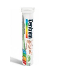 Centrum A to Zinc Effervescent Συμπλήρωμα Διατροφής Με Βιταμίνες, Μέταλλα & Λουτεΐνη - Γεύση Πορτοκάλι 20 Αναβράζοντα Δισκία
