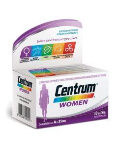 Centrum Women A To Zinc Συμπλήρωμα Διατροφής Για Γυναίκες 30Tabs