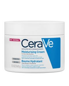 Cerave Moisturizing Cream Ενυδατική Κρέμα Για Ξηρές - Πολύ Ξηρές Επιδερμίδες 340gr