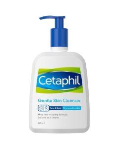 Cetaphil Απαλό Καθαριστικό Προσώπου & Σώματος 460ml