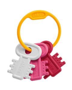 Chicco Χρωματιστά Κλειδιά Ροζ 1 Tmx Cod.63216-10