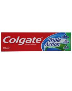 Colgate Triple Action Οδοντόκρεμα Με Γεύση Μέντα 100ml