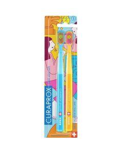 Curaprox Πακέτο Σετ CS 5460 Ultra Soft Πολύ Μαλακή Οδοντόβουρτσα Special Edition 2τμχ