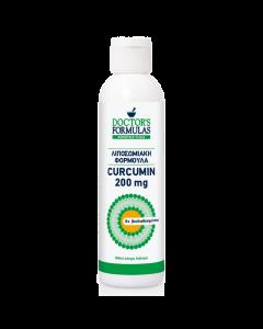 Doctor's Formulas Curcumin 200 Mg Συμπλήρωμα Διατροφής-Λιποσωμιακή Φόρμουλα Κουρκουμίνη 180ml