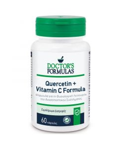 Doctor's Formulas Quercetin & Vitamin C Φόρμουλα με Κουερσετίνη & Βιταμίνη C για τη Φυσιολογική Λειτουργία του Ανοσοποιητικού Συστήματος 60 Κάψουλες