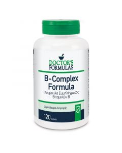 Doctor's Formula B-Complex Φόρμουλα Συμπλέγματος Βιταμινών Β 120tabs