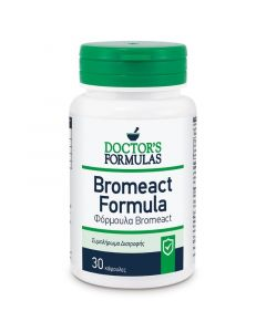 Doctor's Formulas Bromeact Φόρμουλα Με Βρομελίνη Για Το Ανοσοποιητικό Σύστημα 30 Caps