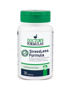 Doctor's Formulas Stressless Συμπλήρωμα Διατροφής-Φόρμουλα για τη Φυσιολογική Ψυχολογική Λειτουργία 30 κάψουλες