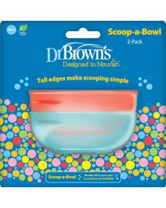 Dr. Brown's Μπωλ Φαγητού 2τμχ