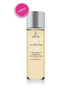 Youth Lab Dry Oil Ξυρό Λάδι Ενυδάτωσης για Πρόσωπο, Σωμα & Μαλλιά 100ml