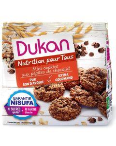 Dukan Extra Gourmand Mini Cookies Βρώμης Με Κομμάτια Σοκολάτας 100 Gr