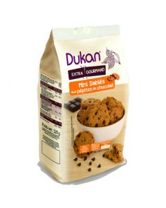 Dukan Extra Gourmand Μίνι Κουλουράκια Βρώμης Με Κομμάτια Σοκολάτας 120 Gr