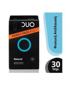 Duo Natural Family Pack Προφυλακτικά 30 Τεμάχια