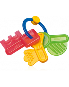 Nuk Κουδουνιστρα-Κλειδακια  Διαφορα Χρωματα 1 Τμχ Cod.10.262.064