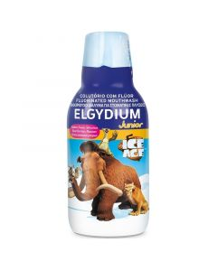 Elgydium Junior Παιδικό Φθοριούχο Στοματικό Διάλυμα Ice Age Με Γεύση Κόκκινων Μούρων 500ml