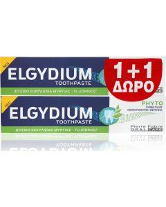 Elgydium Phyto Οδοντόπαστα Promo 1+1 Δώρο 2x75ml