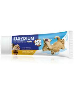 Elgydium Παιδική Οδοντόπαστα Gel Junior 1400ppm Ice Age Με Γεύση Tutti Frutti 50ml