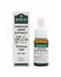 Enecta Premium Hemp Extract 10% Cbd Eλαιο Κανναβης 1000Mg 10ml