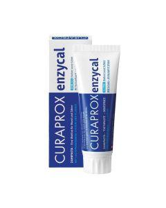 Curaprox Enzycal 950 Οδοντόκρεμα με Φθόριο Ήπια & Δυνατή 75ml
