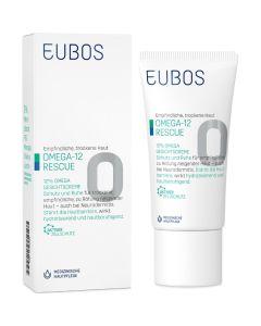 Eubos Omega 3-6-9 12% Κρέμα Προσώπου Με Defensil Για Ξηρό, Ευαίσθητο Δέρμα Με Τάση Για Έκζεμα Κι Ερυθρότητα 50ml