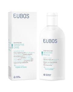 Eubos Sensitive Care Shower & Cream Απαλό Υγρό Καθαρισμού Για Ευαίσθητες Επιδερμίδες 200ml