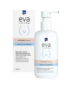 Eva Intima Extrasept pH 3.5 Minor Discomfort Υγρό Καθημερινού Καθαρισμού Ευαίσθητης Περιοχής 250ml