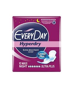Every Day Hyperdry Σερβιετες Maxi Night 10Τμχ