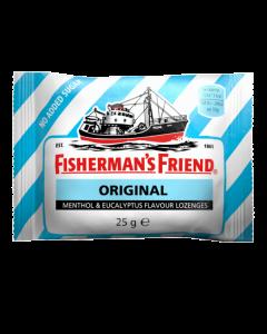 Fisherman's Friend Original Καραμέλες Με Γεύση Μινθόλη & Ευκάλυπτο Χωρίς Ζάχαρη 25G