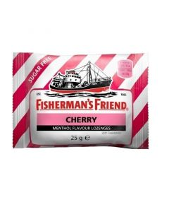 Fisherman's Friend Καραμέλες Με Γεύση Κεράσι & Μενθόλη Χωρίς Ζάχαρη 25G