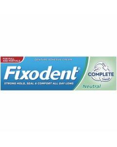 Fixodent Pro Complete Neutral Στερεωτική Κρέμα για Τεχνητές Οδοντοστοιχίες 47gr