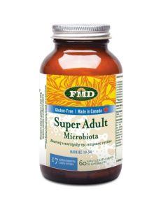 Flora Udo's Choice Super Adult Microbiota 60 Φυτικές Κάψουλες