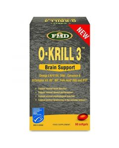 Flora O-Krill 3 Brain Support Για Την Υγεία Του Εγκεφάλου 60 Μαλακές Κάψουλες