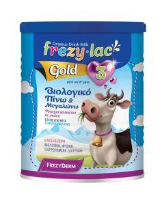 Frezyderm Frezylac Gold 3 Βιολογικό Αγελαδινό Ρόφημα Γάλακτος Σε Σκόνη 400g