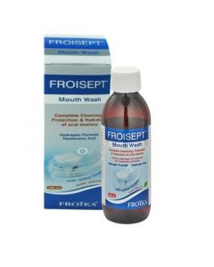 Froika Froisept Mouth Wash Στοματικό Διάλυμα Με Ενεργό Οξυγόνο 250ml
