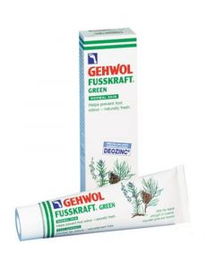 Gehwol Fusskraft Green Αποσμητική & Αναζωογονητική Κρέμα Ποδιών 125ml