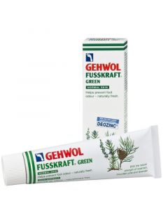Gehwol Fusskraft Vert Green Αποσμητική & Αναζωογονητική Κρέμα Ποδιών Για Κανονικές Επιδερμίδες 75ml