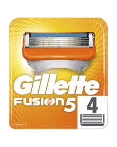 Gillette Fusion 5 Ανταλλακτικές Κεφαλές Ξυριστικής Μηχανής 4Τμχ