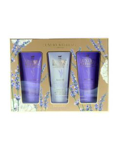 Grace Cole The Luxury Bathing Company Σετ Κρέμες Χεριών Calming Trio Lavender Bath Time 3τμχ