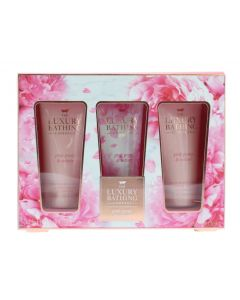 Grace Cole The Luxury Bathing Company Σετ Pamper Me Pink Peony &  Vetiver 3τμχ