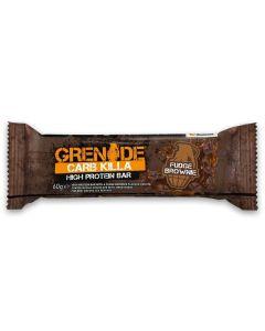 Grenade Carb Killa Μπάρες Υψηλής Πρωτεΐνης Fudge Brownie 60Gr
