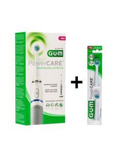 Gum 4200m Powercare Recharge Ηλεκτρική Οδοντόβουρτσα 1Τμχ & ΔΩΡΟ 2 Ανταλλακτικές Κεφαλές
