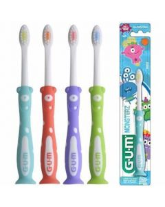 Gum Kids Monster Παιδική Οδοντόβουρτσα 3-6 Ετών (901) 1τμχ