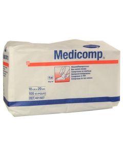 Hartmann Medicomp Μη Αποστειρωμένες Γάζες - Επιθέματα Φλις 10x20Cm 100Τμχ